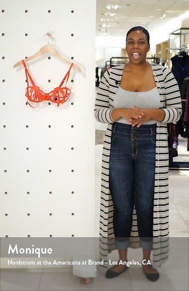 Eden Open Underwire Thong Bodysuit, sales video thumbnail