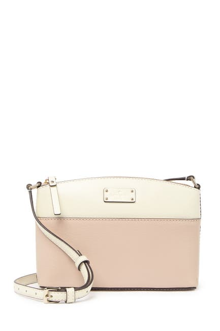 Image of kate spade new york millie leather crossbody bag