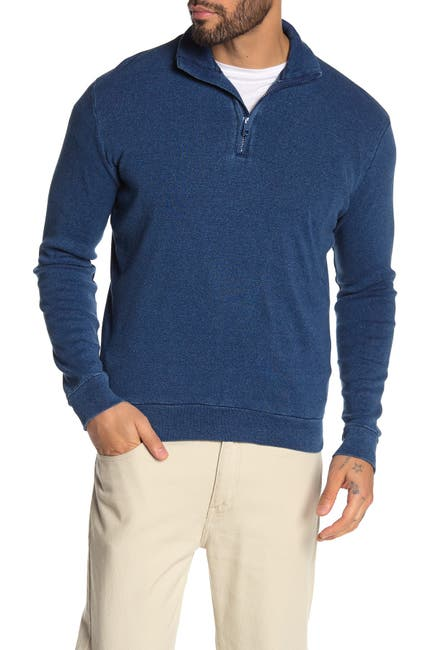 Image of Thomas Dean 1/4 Zip Sweatshirt