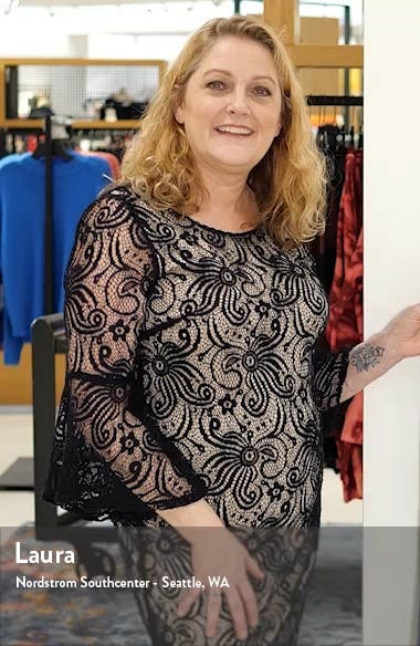 Sandra Angel Sleeve Wrap Dress, sales video thumbnail
