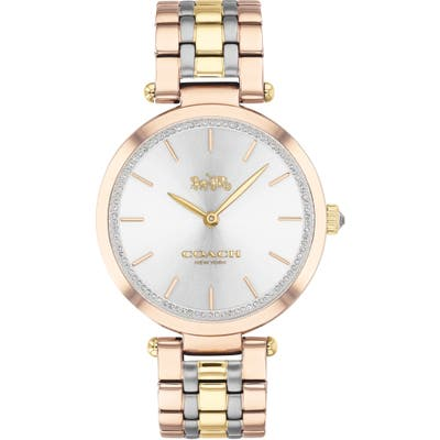 Coach Park Pave Bracelet Watch,