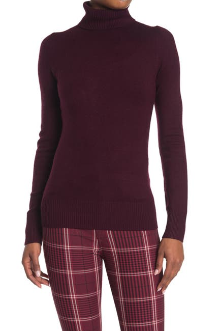 Image of French Connection Long Sleeve Turtleneck Sweater