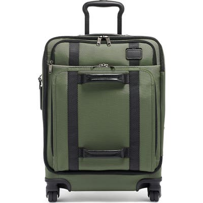 Tumi 22-Inch Front Lid Recycled Wheeled Dual Access Continental Carry-On Bag - Green