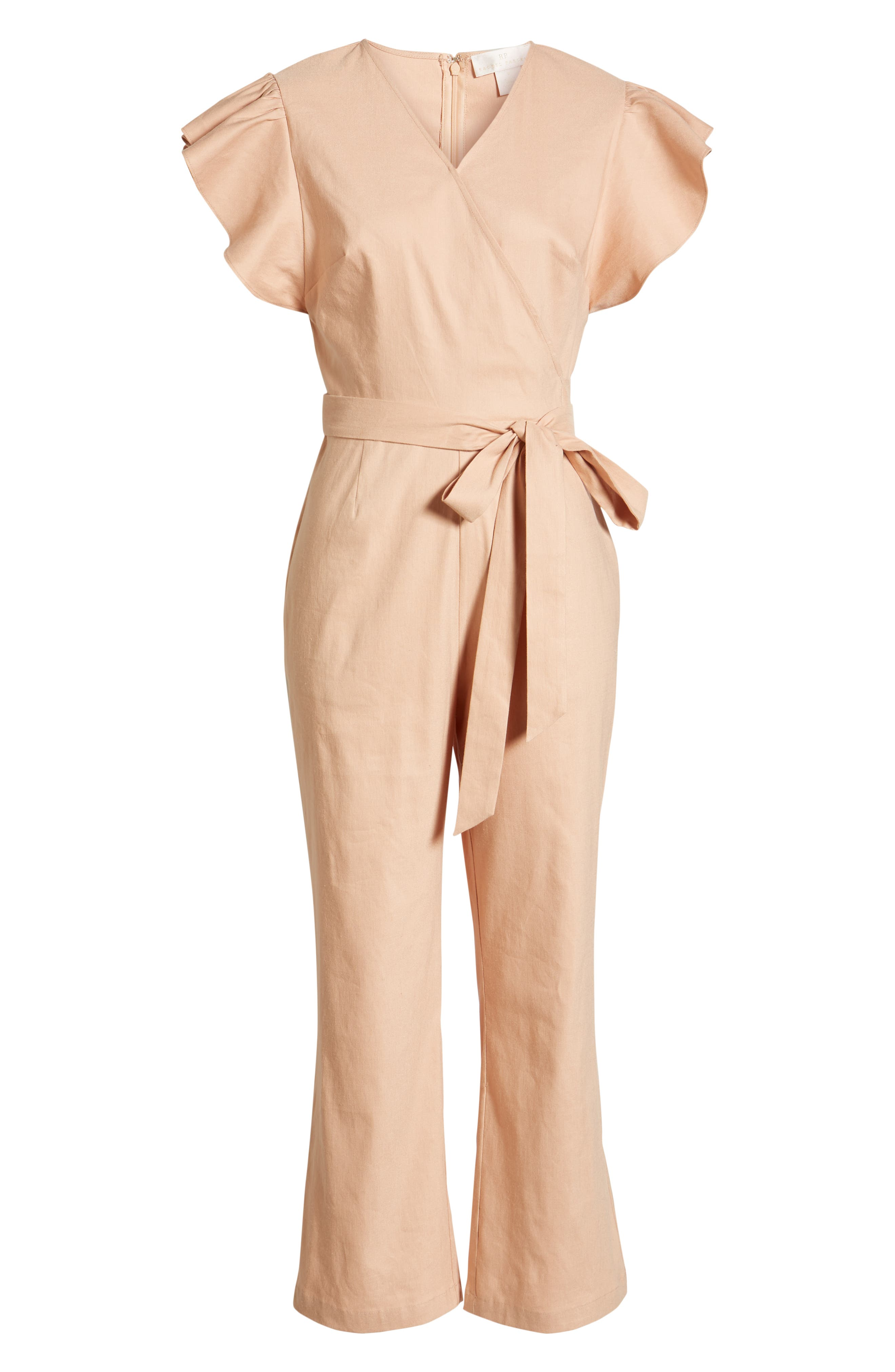 ,                             Ruffle Sleeve Jumpsuit,                             Alternate thumbnail 7, color,                             680