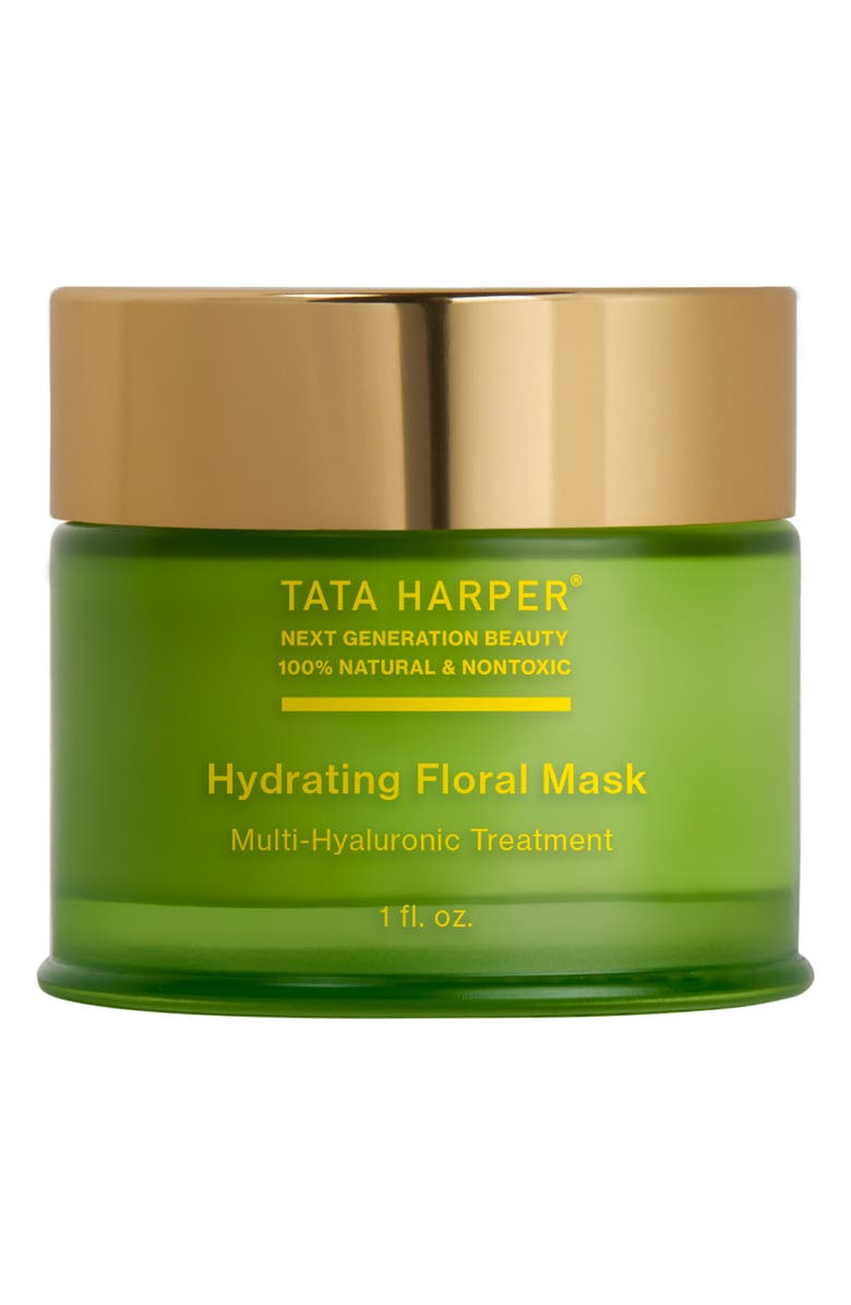 TATA HARPER SKINCARE Hydrating Floral Mask, Main, color, NO COLOR