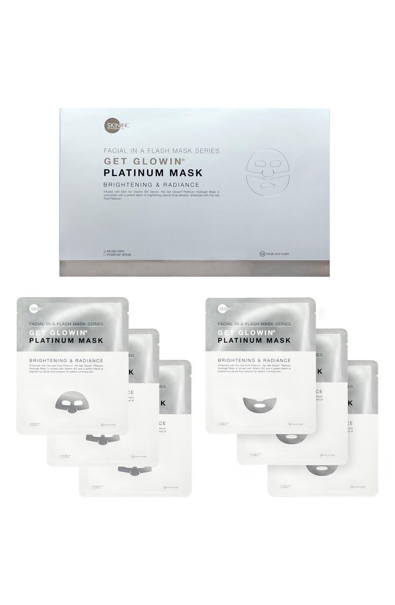 SKIN INC. Get Glowin'<sup>®</sup> Platinum Mask Set, Main, color, NO COLOR