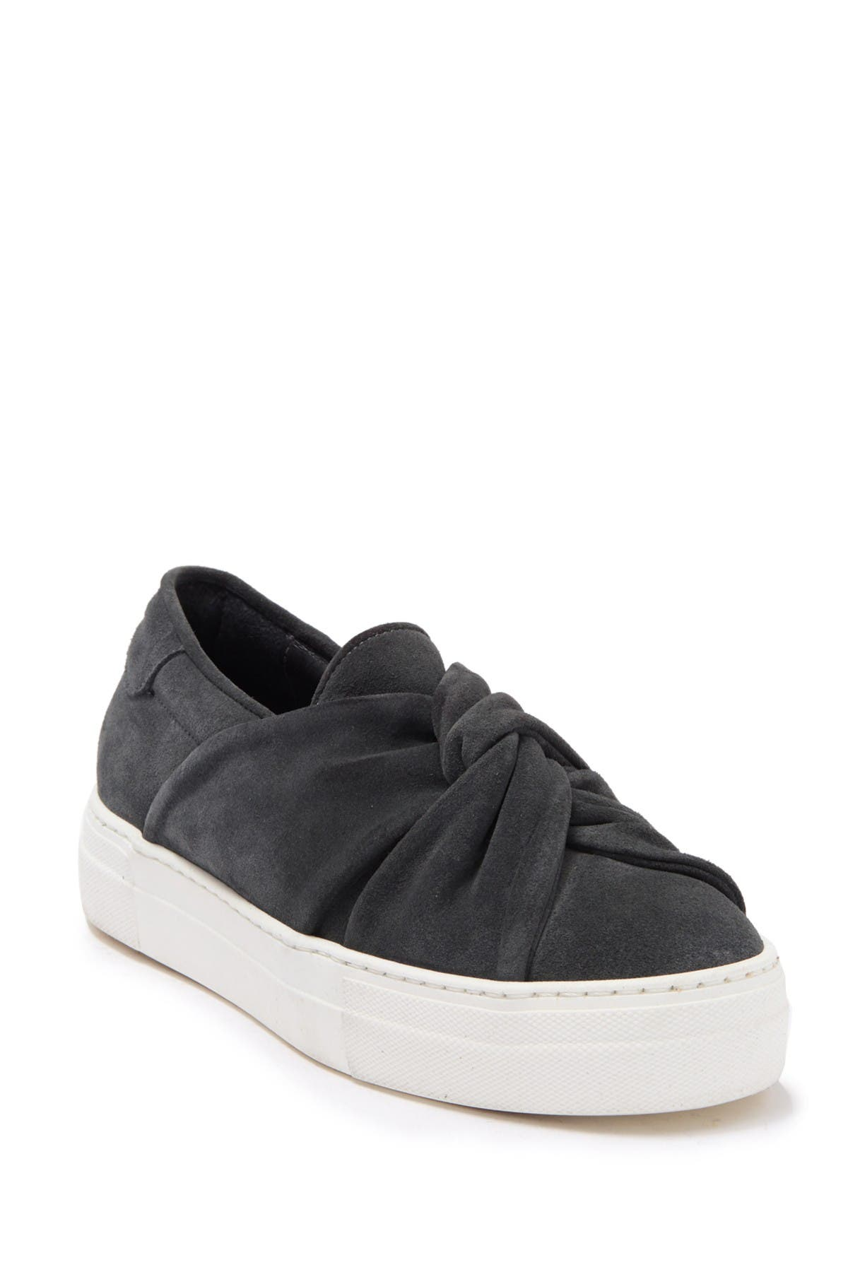 Image of Maje Knotted Slip On Sneaker