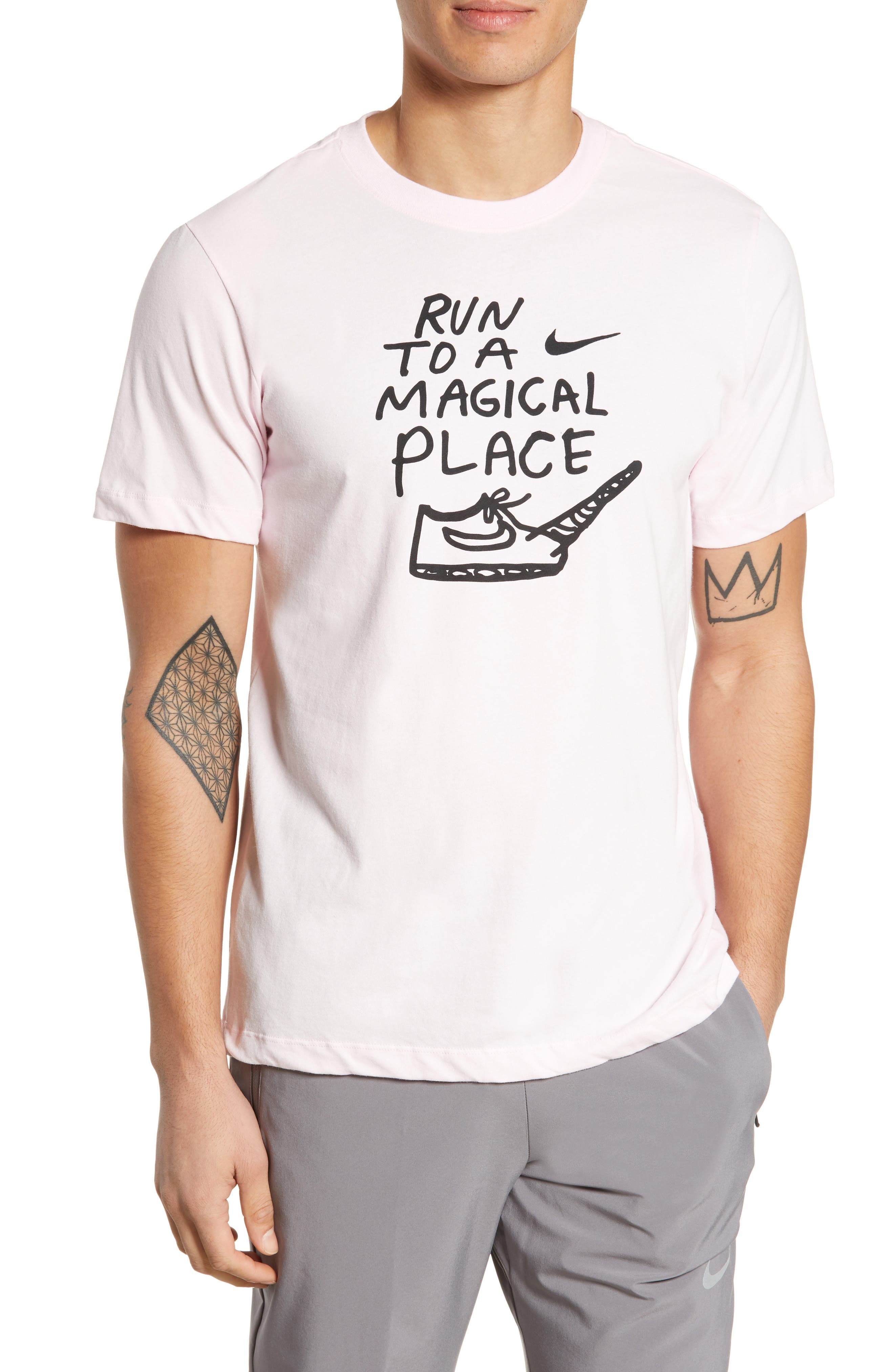 Nike Dry Magical Place T-Shirt Pink