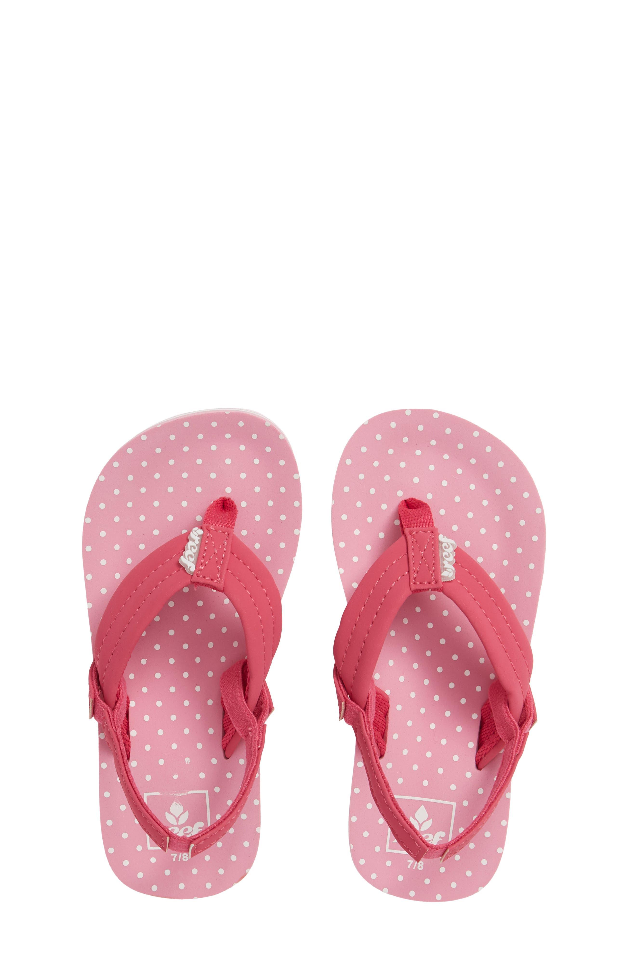 Infant Reef Little Ahi Sandal Size 34 M  Pink