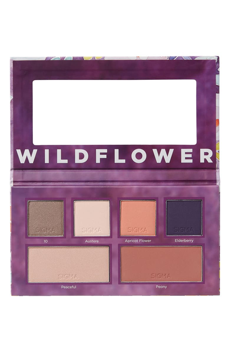 SIGMA BEAUTY Wildflower Eye & Cheek Palette, Main, color, NO COLOR