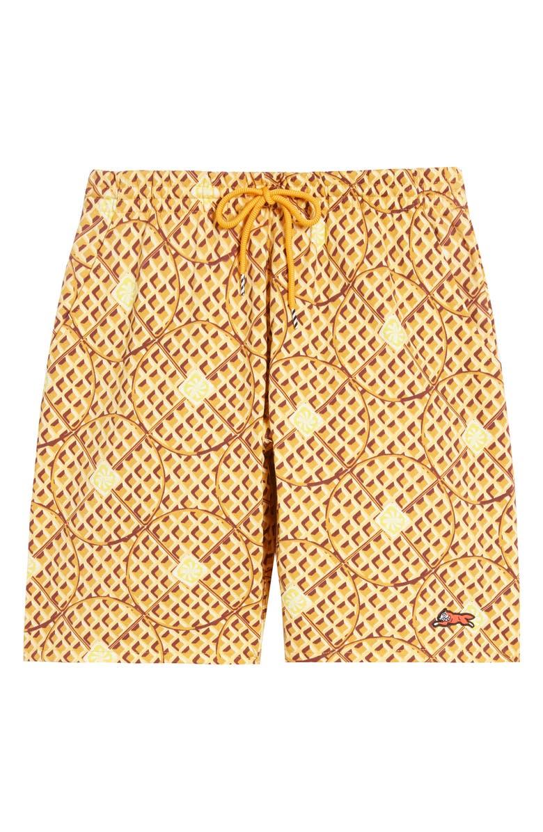 ICECREAM Nyjah Shorts, Main, color, SUNFLOWER