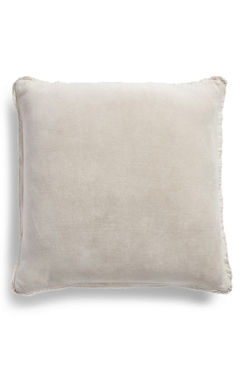 TREASURE & BOND Stonewash Velvet Accent Pillow, Main, color, 021