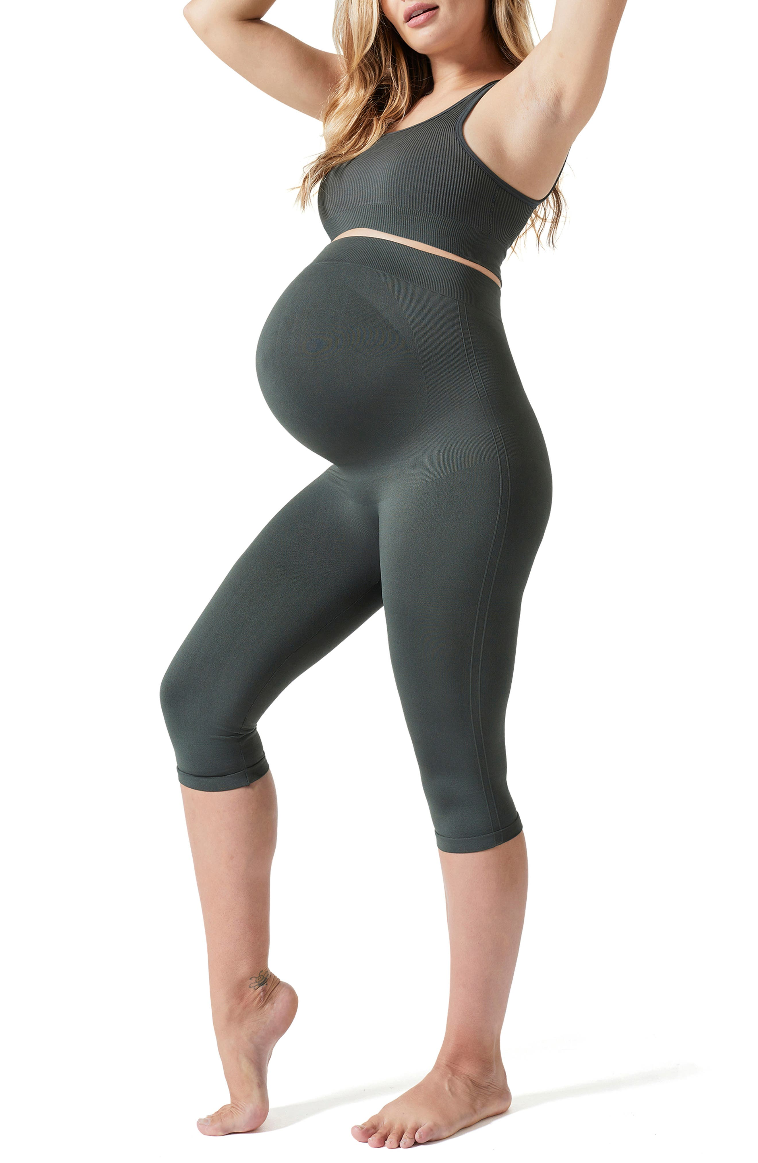 Everyday Maternity Belly Support Crop Leggings