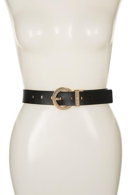 Image of MICHAEL Michael Kors Reversible Logo Leather Strap
