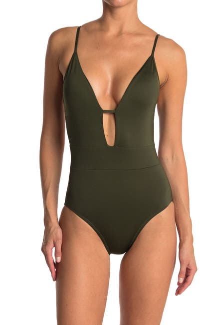Image of BECCA Tie Back One-Piece Swimsuit