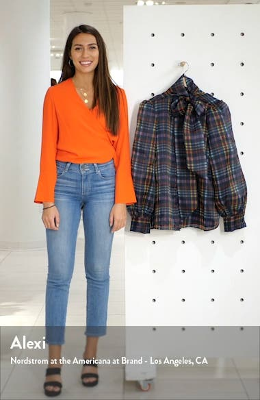 x Atlantic-Pacific Bow Collar Blouse, sales video thumbnail