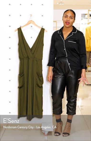 Wide Leg Crop Jumpsuit, sales video thumbnail