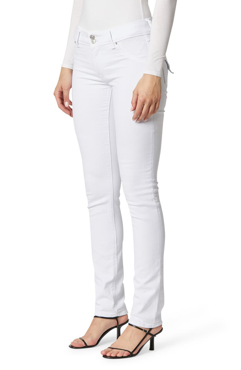 HUDSON JEANS Collin Skinny Jeans, Main, color, WHITE 2