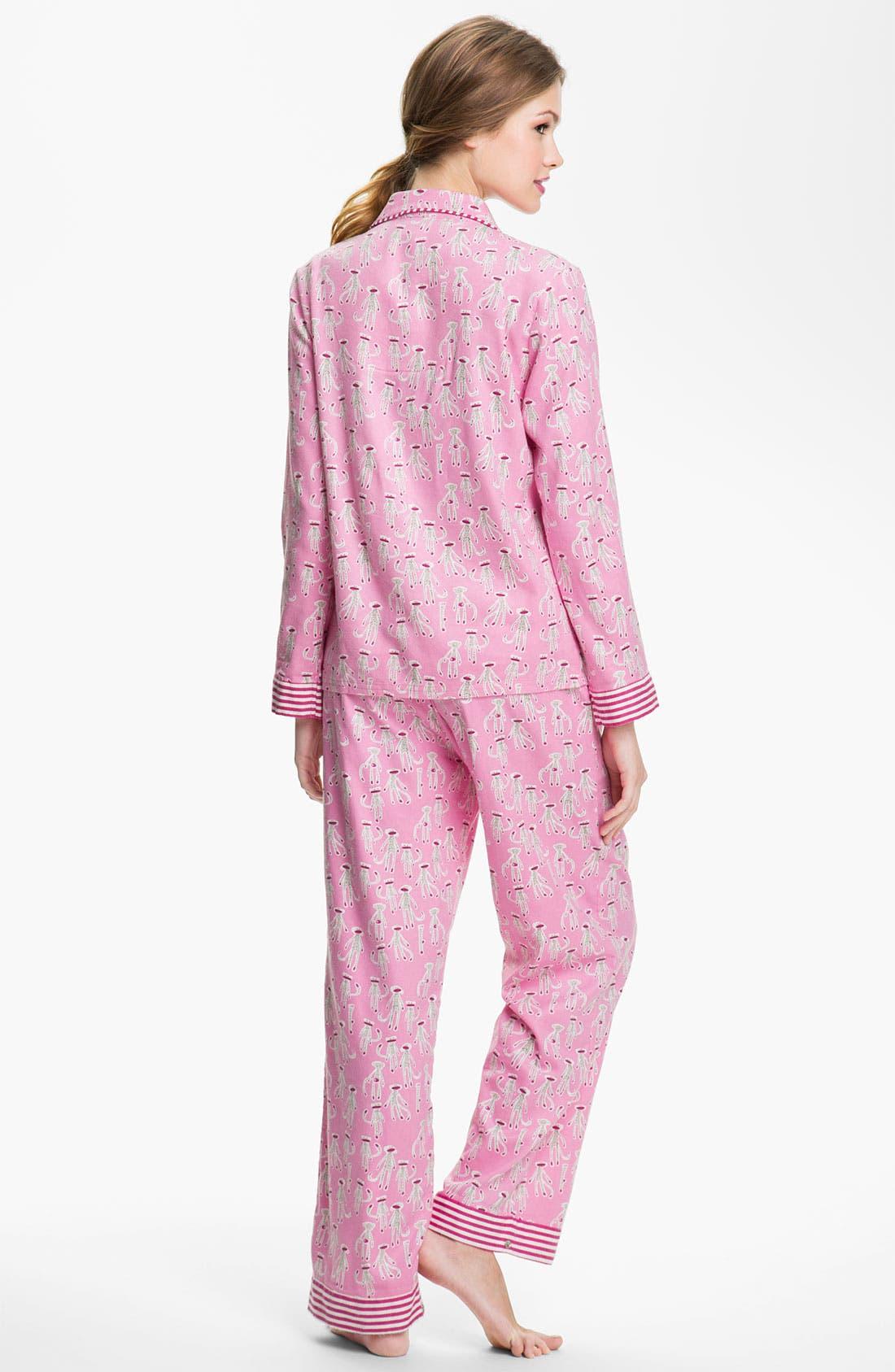 ,                             Flannel Pajamas,                             Alternate thumbnail 83, color,                             681