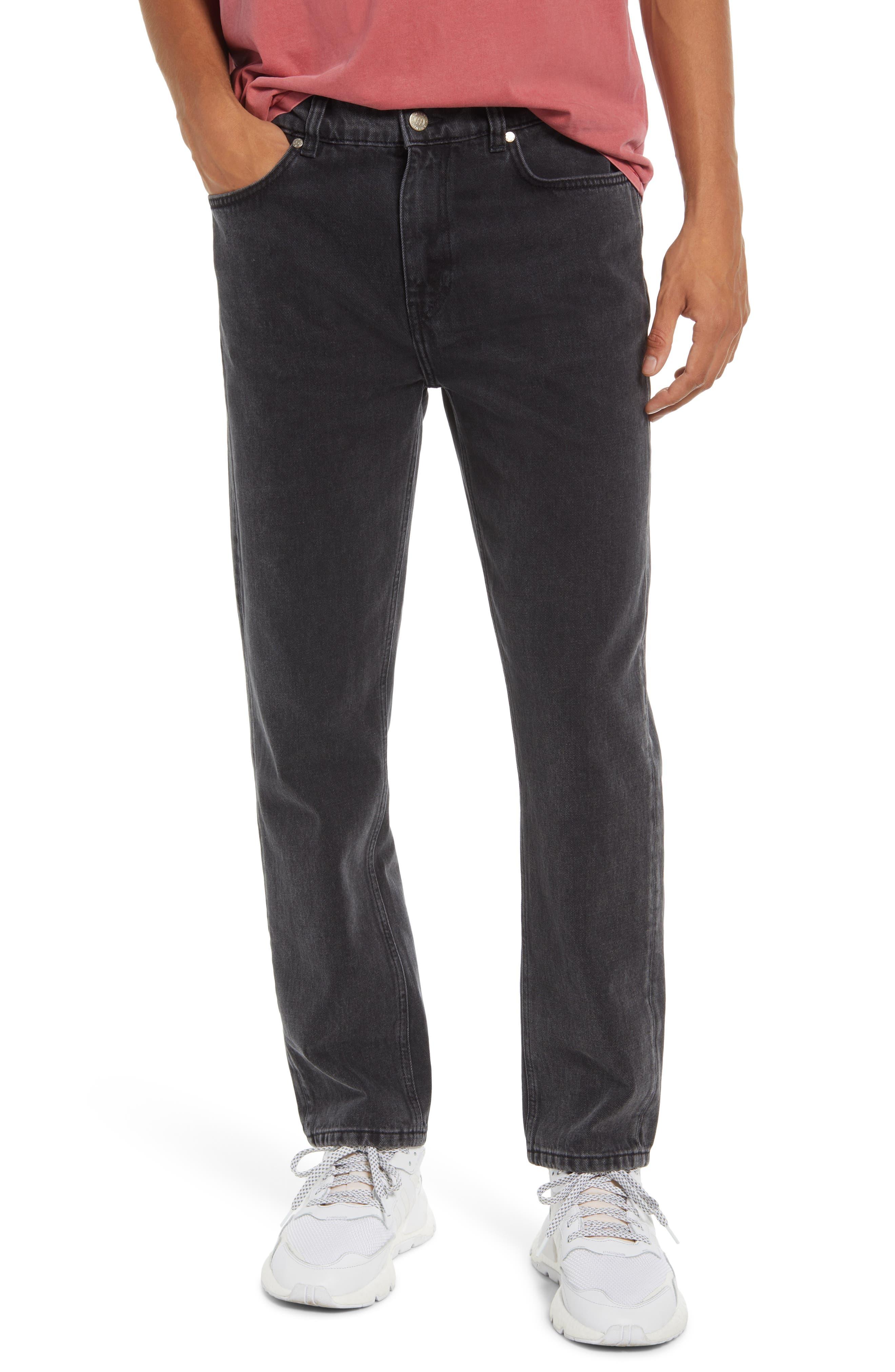 Slim Straight Fit Organic Cotton Jeans