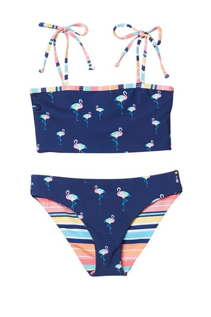 Image of Splendid Take Wing Tube Top Bikini 2-Piece Swimsuit Set
