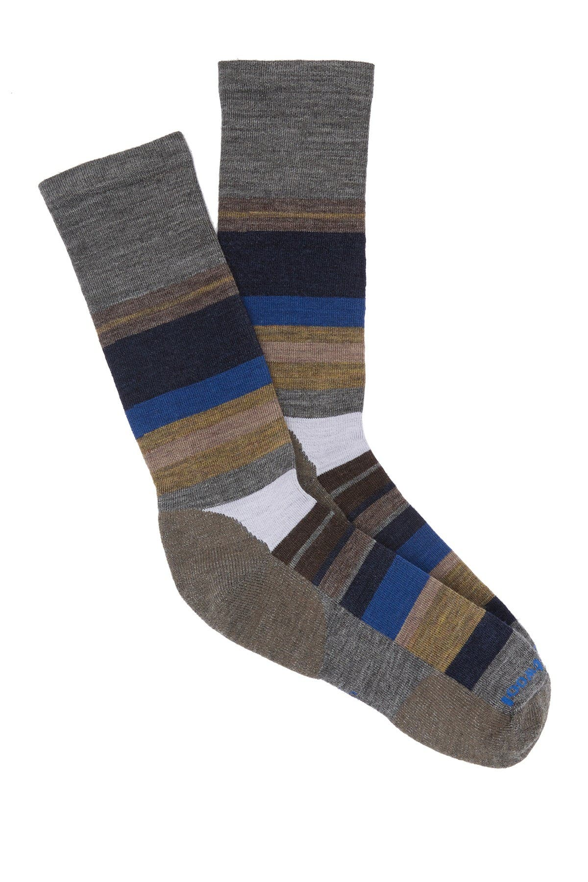 Image of SmartWool Saturnsphere Striped Crew Socks