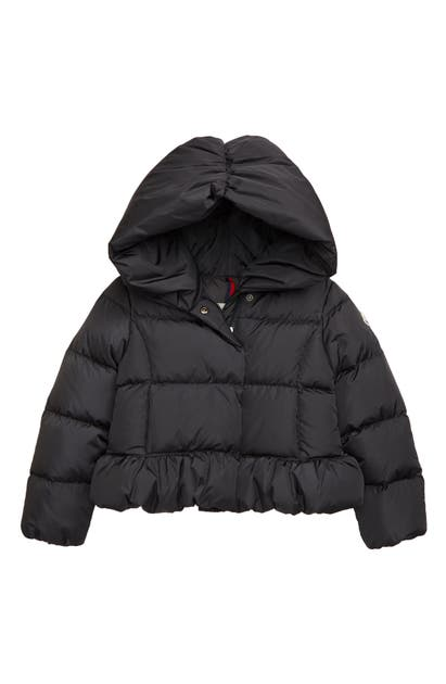 Moncler Babies' Cayolle Water Resistant Down Quilted Puffer Jacket In Charcoal