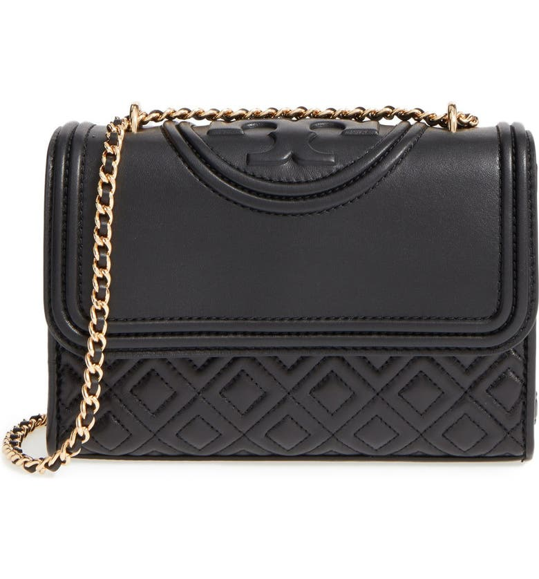 Small Fleming Quilted Leather Shoulder Bag