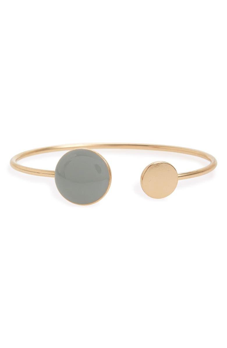 BP. Enamel Station Cuff Bracelet, Main, color, 050