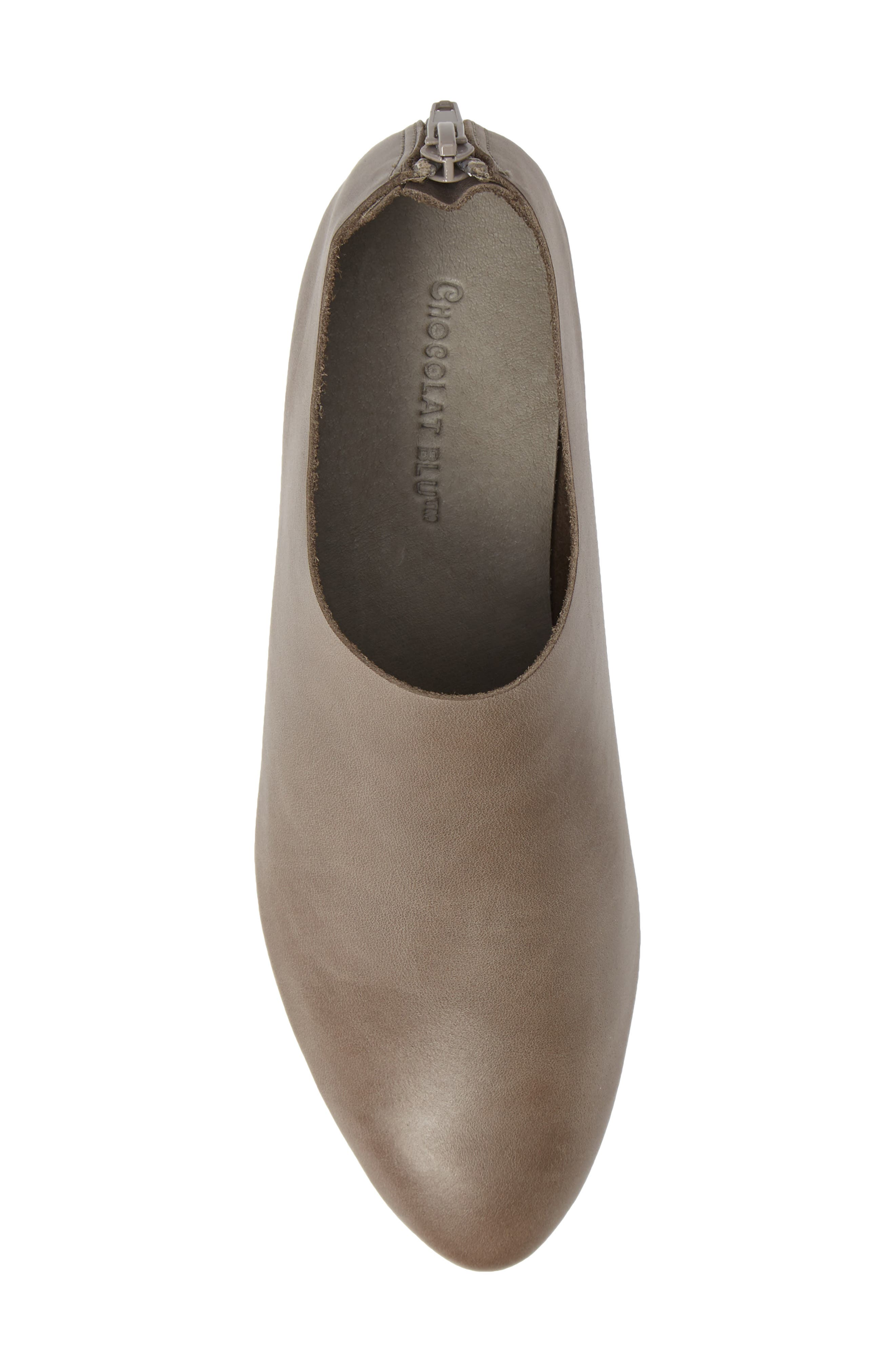 ,                             Emily Loafer,                             Alternate thumbnail 5, color,                             GRAY LEATHER