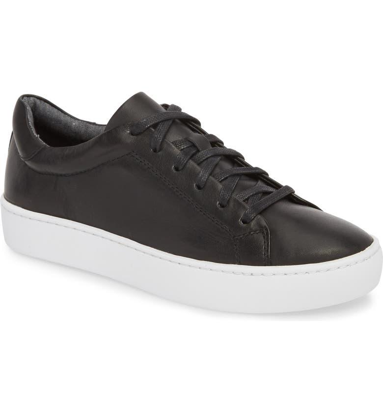 VAGABOND SHOEMAKERS Zoe Sneaker, Main, color, BLACK LEATHER