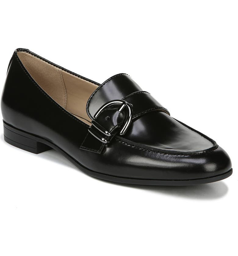 NATURALIZER Janie Loafer, Main, color, BLACK LEATHER