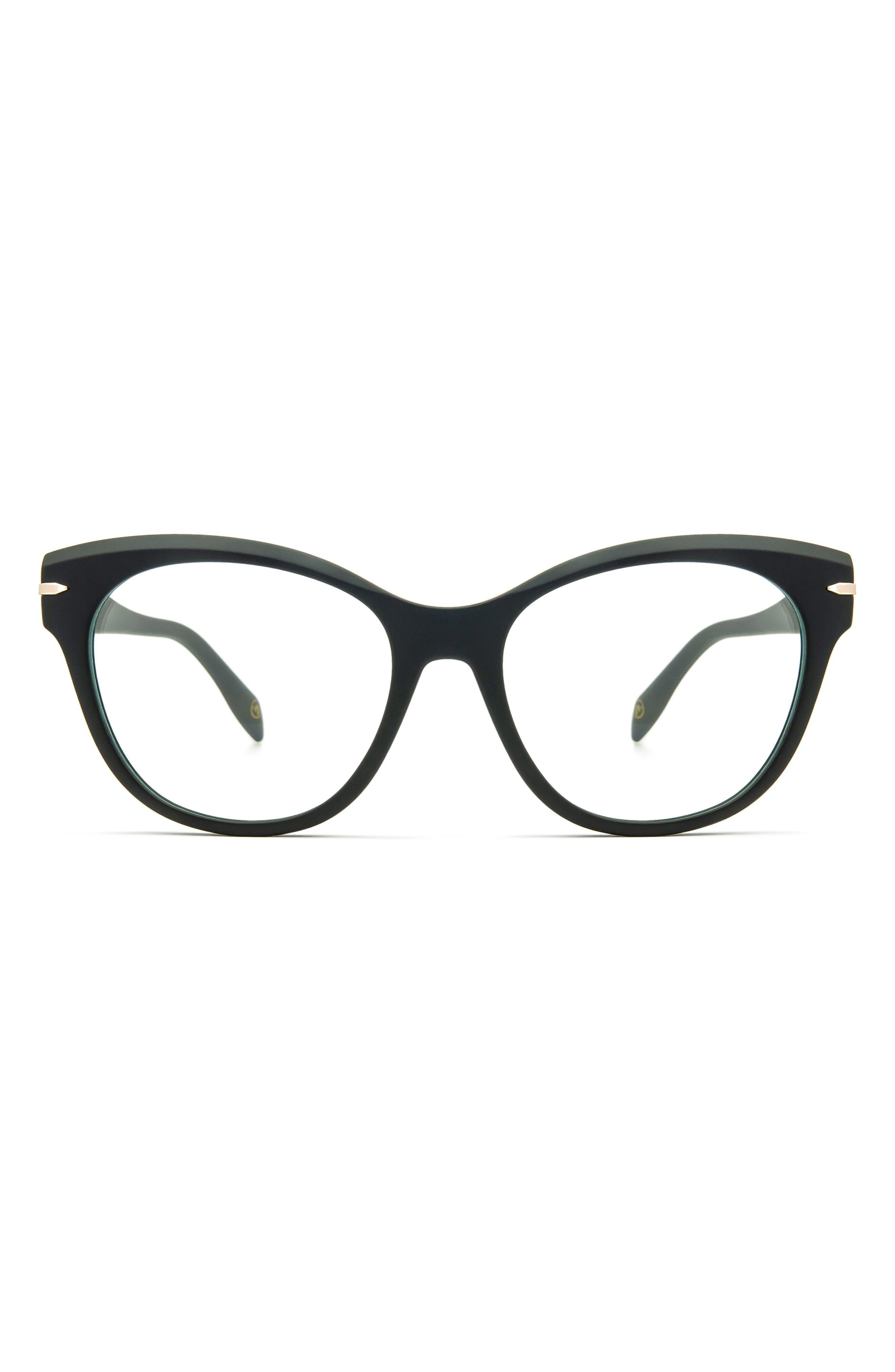 56mm Cat Eye Blue Light Blocking Glasses