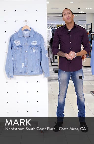 Ripped Denim Jacket, sales video thumbnail