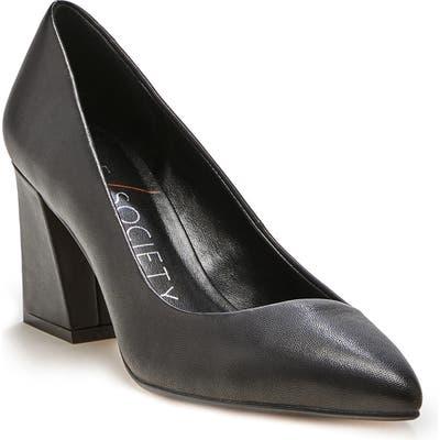 Sole Society Capra Pointed Toe Pump, Black