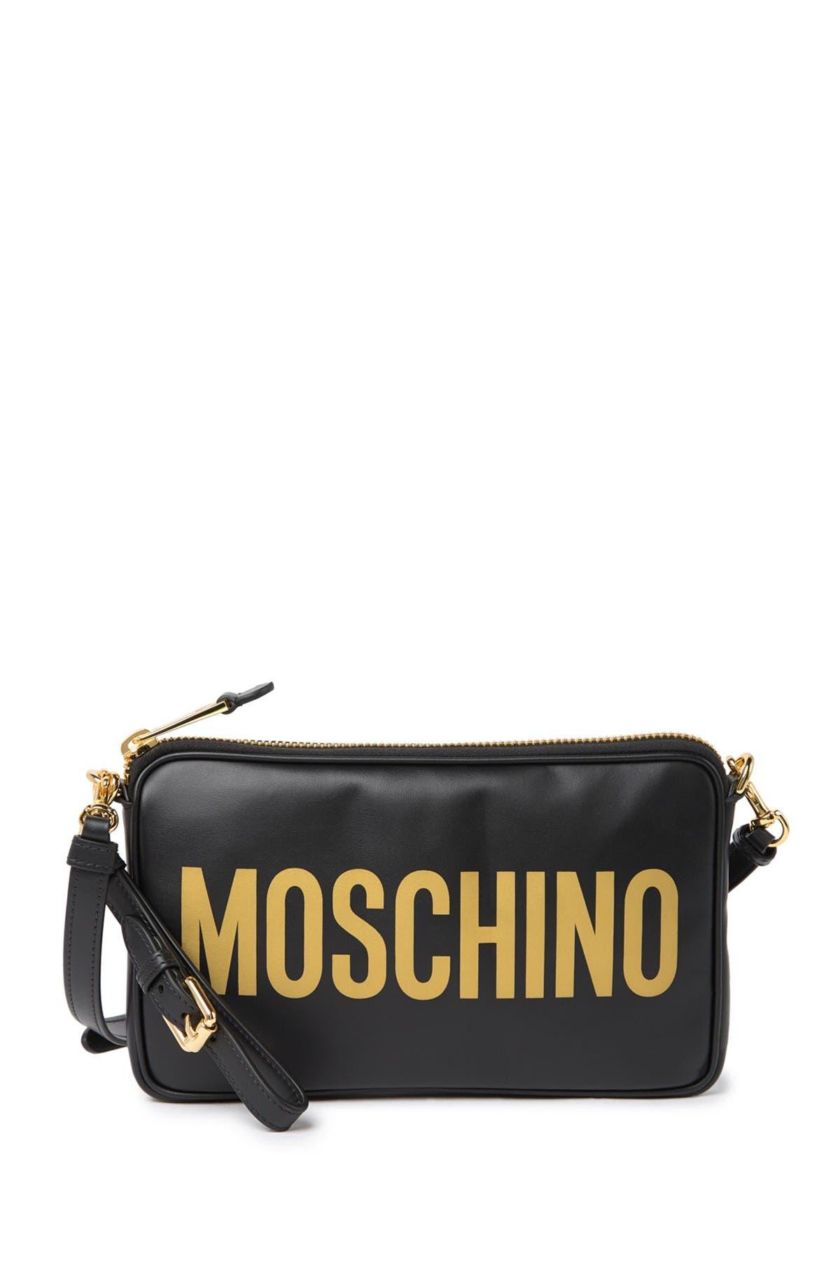 Image of MOSCHINO Logo Crossbody Bag