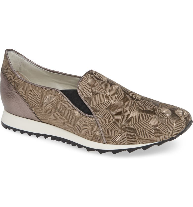 AMALFI BY RANGONI Francia Slip-On Sneaker, Main, color, TAUPE LEATHER