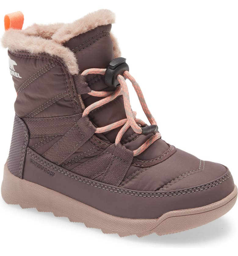 SOREL Whitney<sup>™</sup> II Short Waterproof Insulated Boot, Main, color, PURPLE SAGE