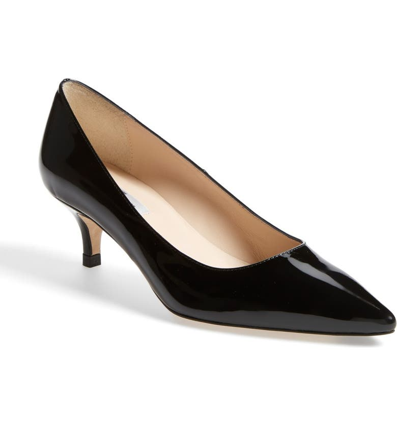 956284cb59455 L.K. Bennett 'Minu' Patent Leather Pointy Toe Pump | Nordstrom