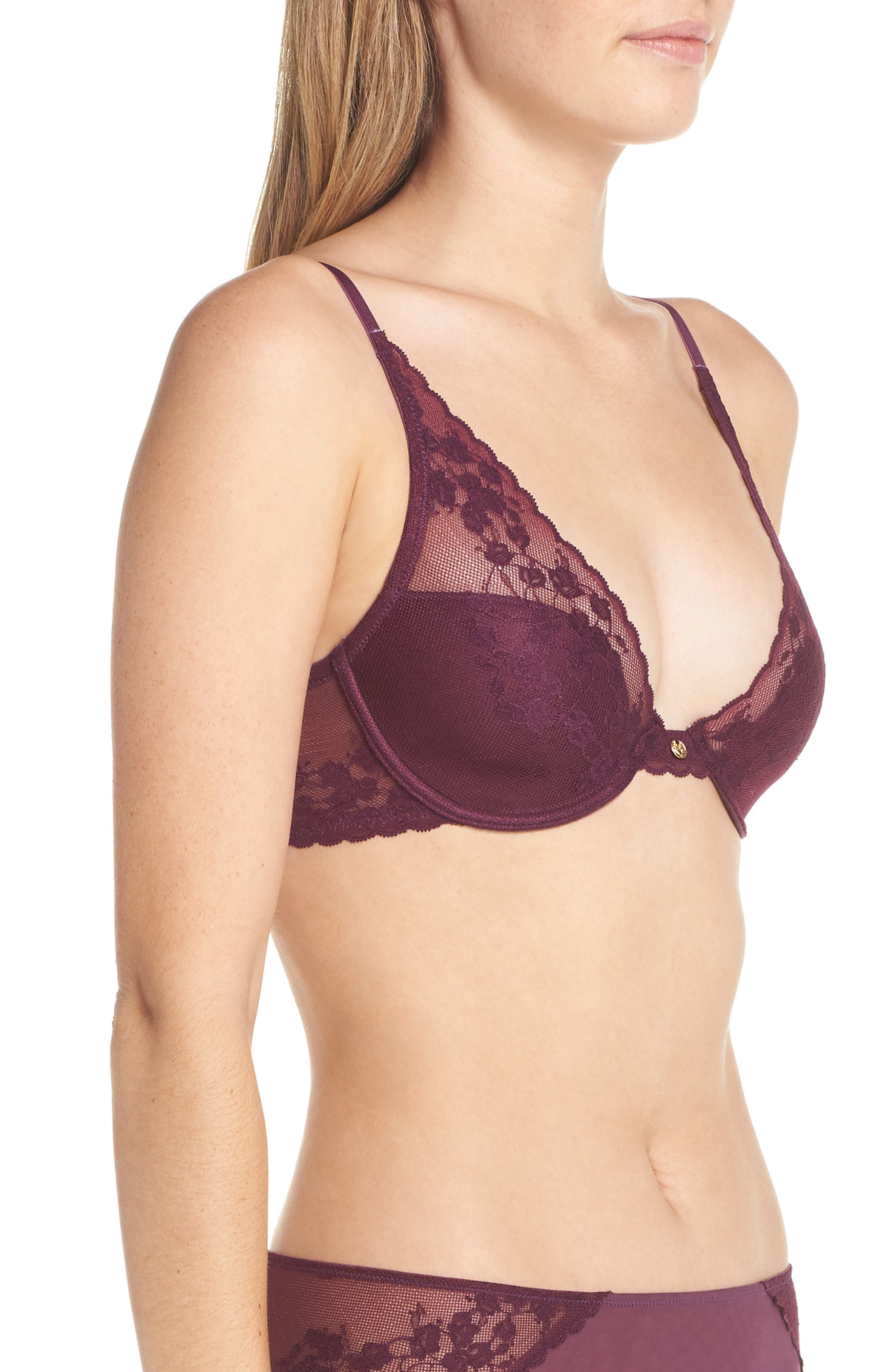 ,                             Cherry Blossom Convertible Underwire Bra,                             Alternate thumbnail 58, color,                             581