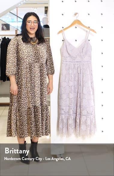 Sleeveless Lace Midi Dress, sales video thumbnail