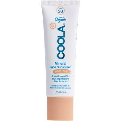 Coola Suncare Mineral Face Sunscreen Matte Tint Spf 30