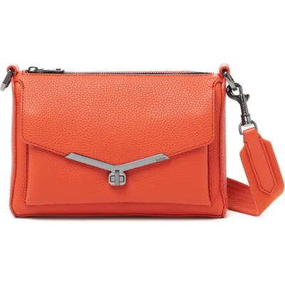 Botkier Valentina Leather Crossbody Bag - Orange