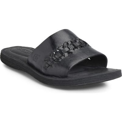B?rn St. Francis Slide Sandal, Black