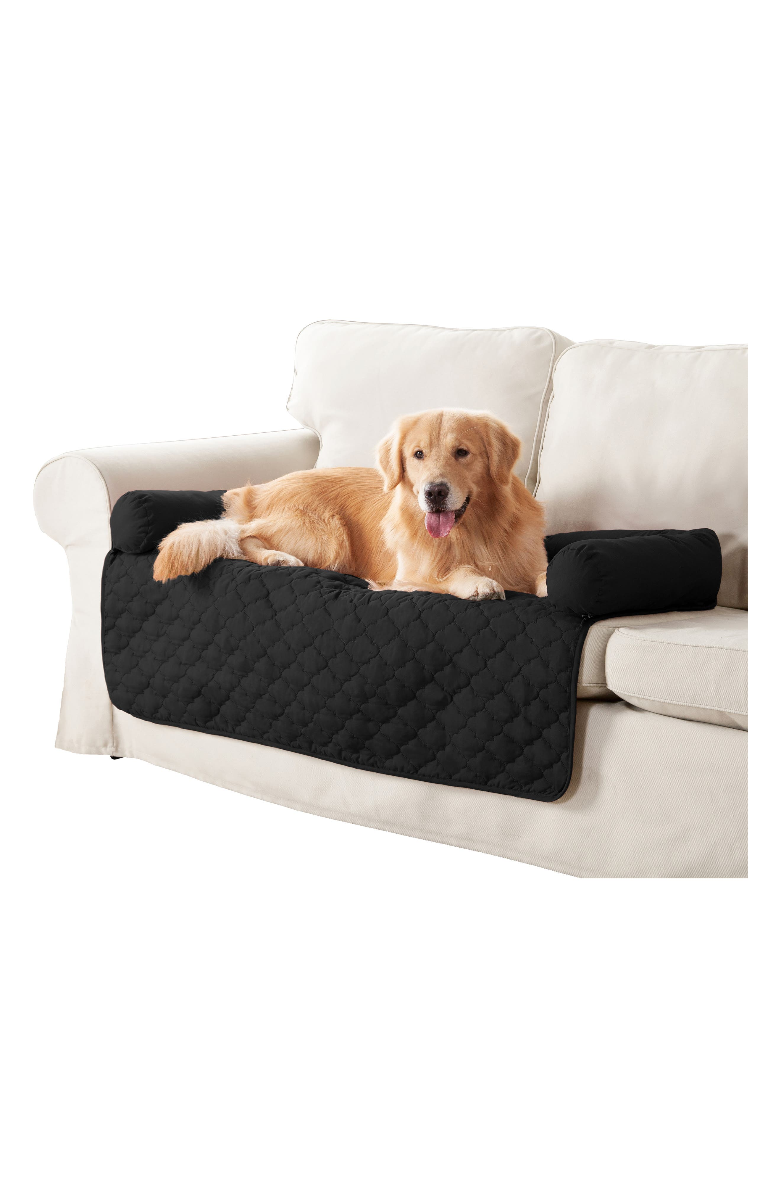 Image of Duck River Textile Wubba Silver/Black Reversible Pet Bed
