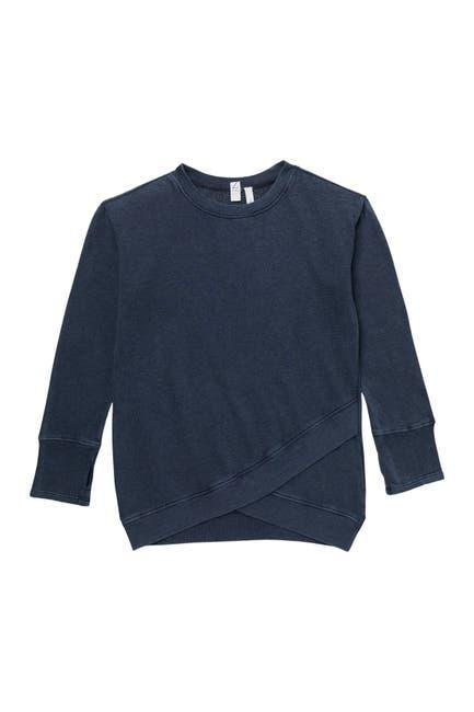 Image of Z by Zella Girl Petal Front Crew Sweatshirt