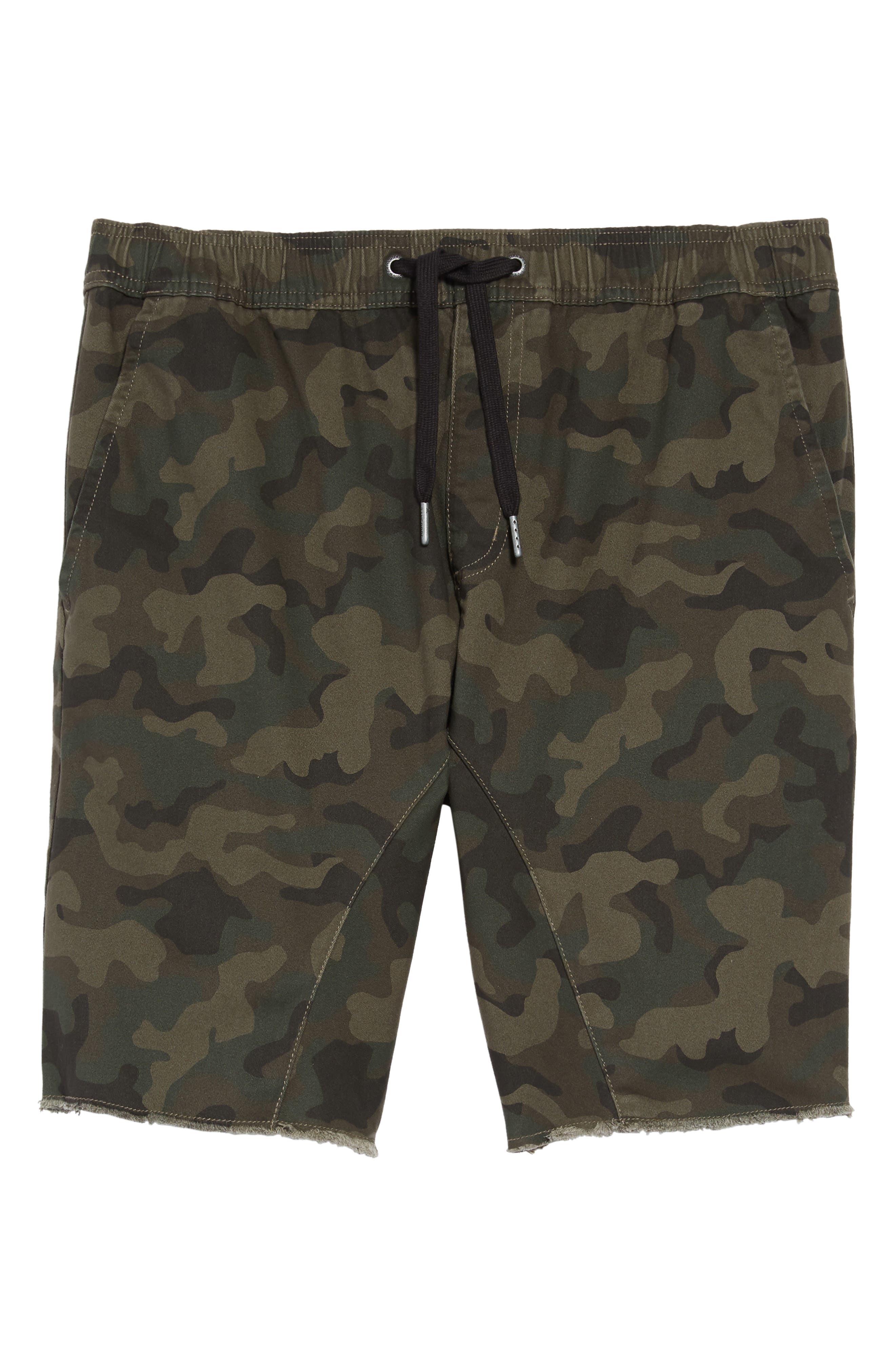 Men's Zanerobe Sureshot Camo Print Shorts