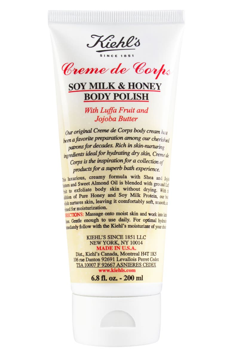 KIEHL'S SINCE 1851 Soy Milk & Honey Body Polish, Main, color, NO COLOR