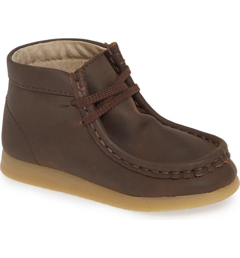 FOOTMATES Wally Chukka Boot, Main, color, BROWN OILED