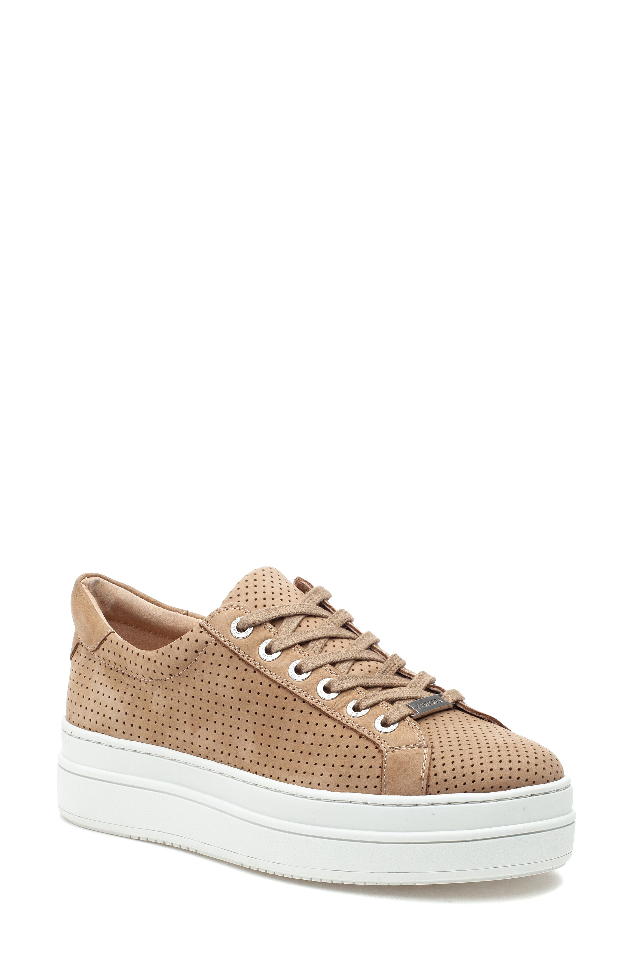 Nancee Perforated Platform Sneaker